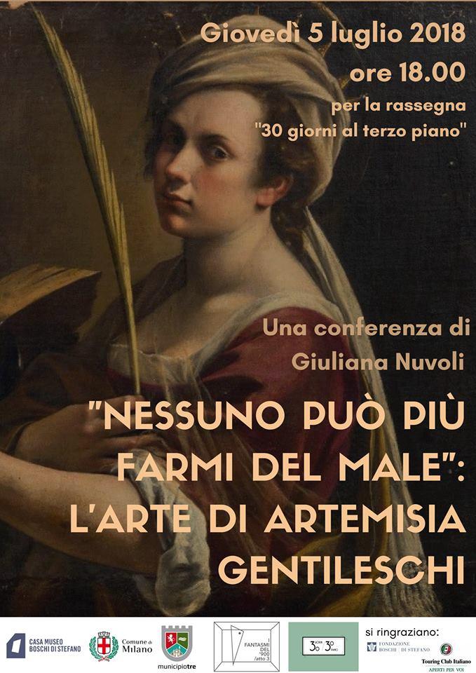artemisia gentileschi 5 luglio post comune di milano