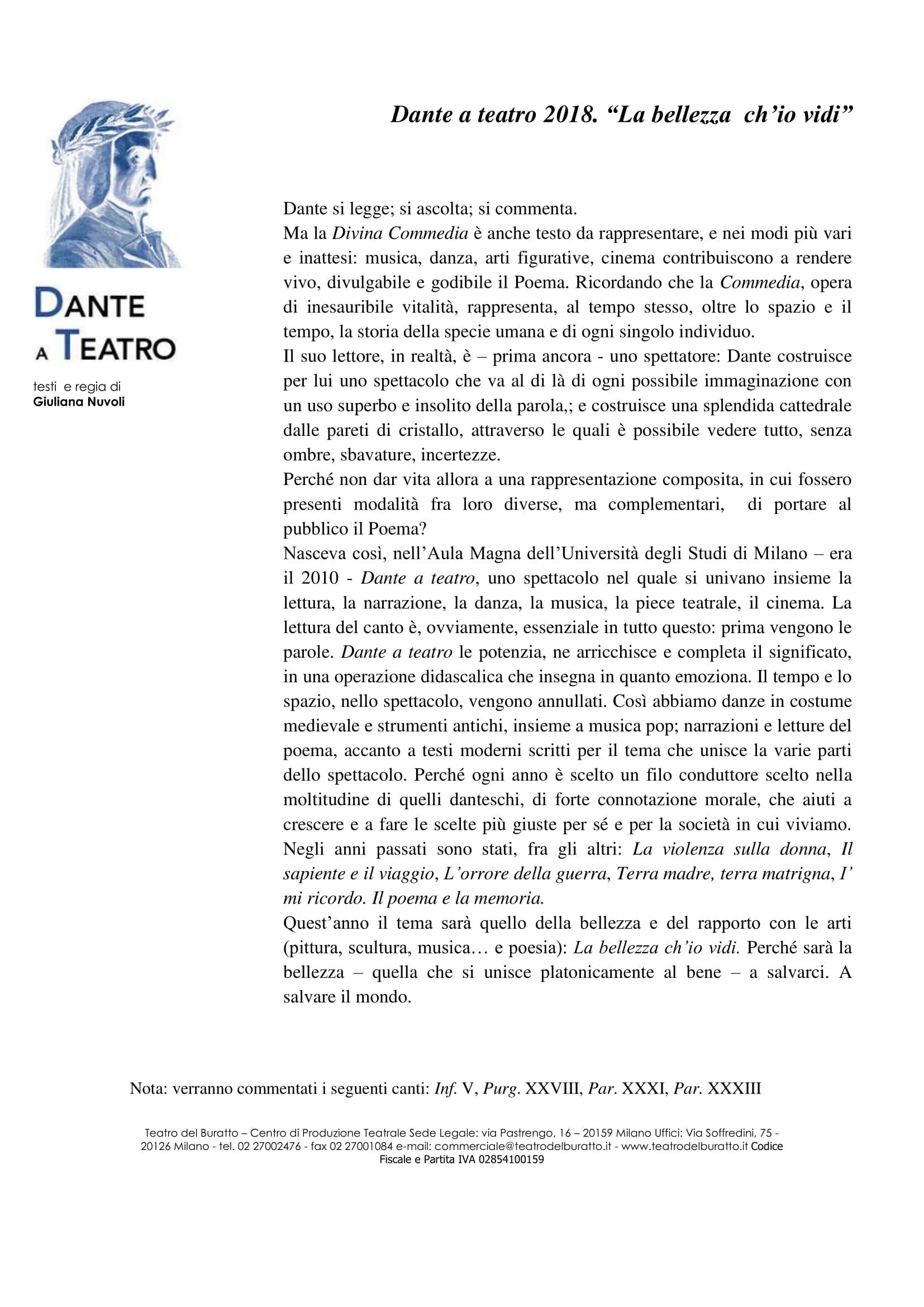 scheda Dante a teatro 2018 -1