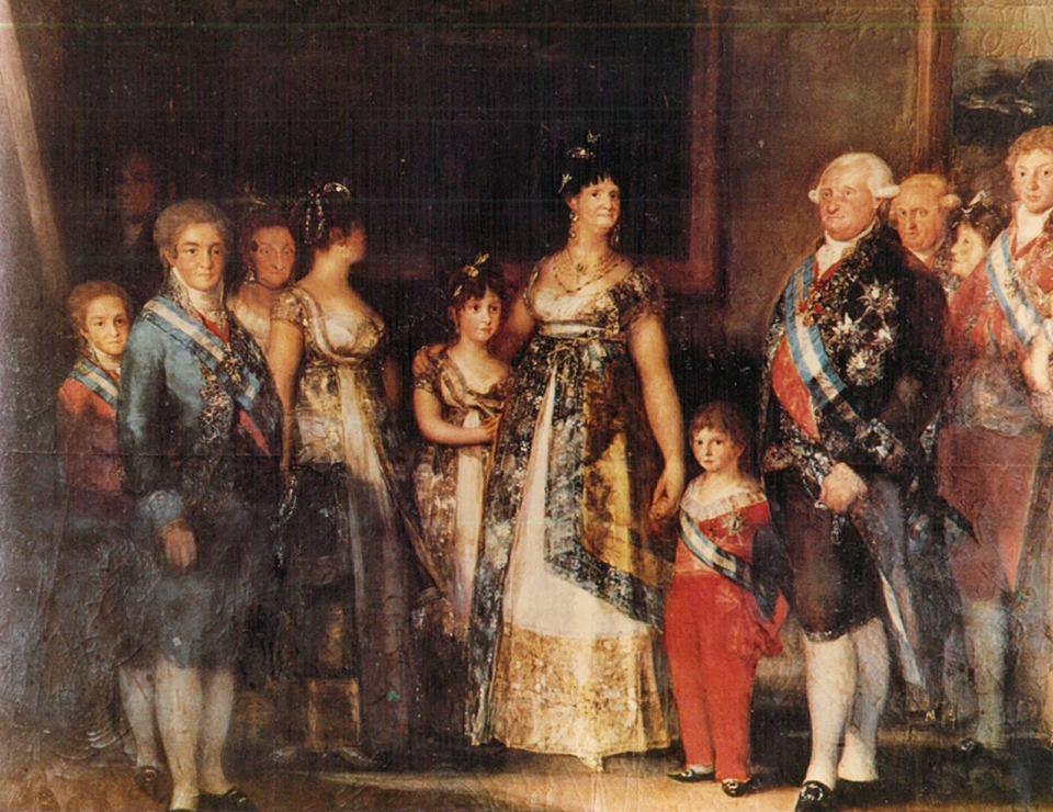 famiglia reale spagnola