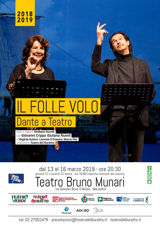 locandina buratto il folle volo dante a teatro 2019 (1)