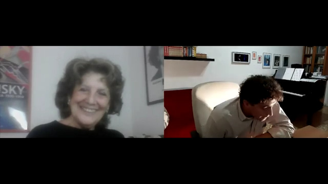 Paolo Pasquini intervista Giuliana Nuvoli nell'ambito del Festival Dantesco, 6 Novembre 2020. https://www.youtube.com/watch?v=ov-mtf4pXFo