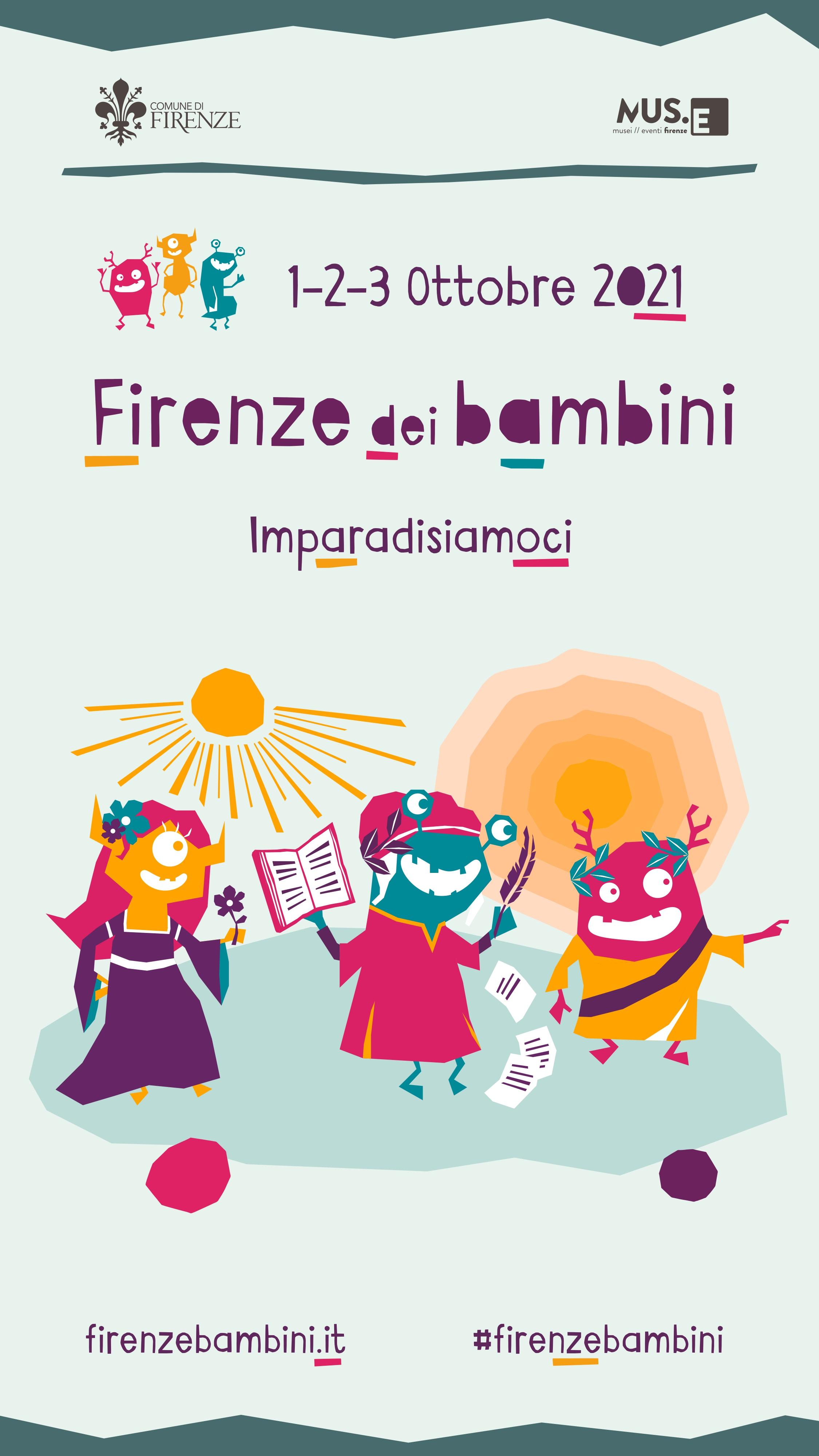 """""""Dante a teatro"""" e """"Dante e il cinema"""" al Festival dei Bambini, Firenze, 1- 3 ottobre 2021"""